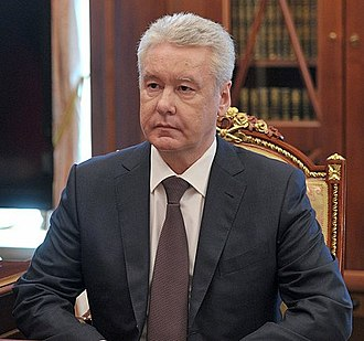 Mayor of Moscow - Image: Sergey Sobyanin 5 June 2013