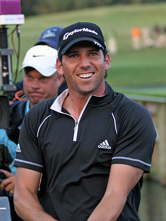 Sergio García - García at the 2008 Players Championship