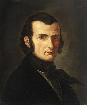 Veit Hanns Schnorr von Carolsfeld - Portrait of the poet Seume