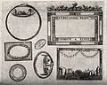 Seven different designs for labels for a French pharmacist, Wellcome V0010827.jpg