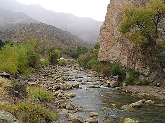 Sevier River - The Sevier River in Marysvale Canyon