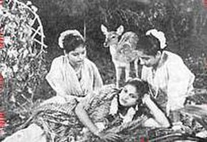 Sakuntalai -  M. S. Subbulakshmi in Sakuntalai