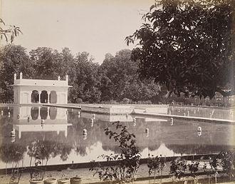 Shalimar Gardens, Lahore - Shalimar Gardens in 1895