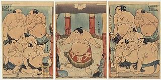 Daidōzan Bungorō no dohyō-iri
