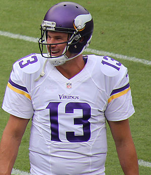 Shaun Hill - Hill with the Vikings in 2015