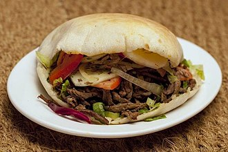 Shawarma - Shawarma in a pita