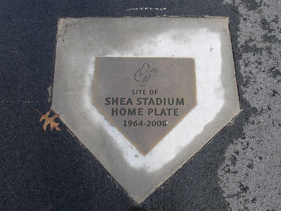 Shea home plate