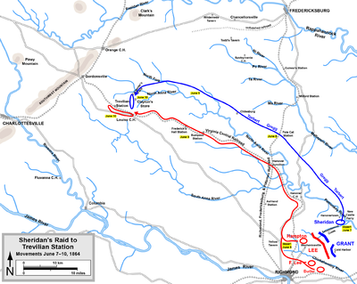The Civil War 150th Blog Battle Of Trevilian Station
