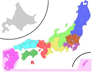 Shikoku proportional representation block