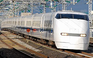 300 Series Shinkansen - JR Central set J61, February 2011