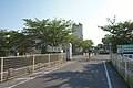 Shisei combined elementary and junior high school front gate.jpg
