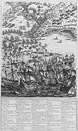Siege de la Rochelle par louis XIII et Richelieu du 10 aout 1627 au 28 octobre 1628 planche 2 Jacques Callot 1592 1635