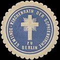 Siegelmarke Gemeinde-Kirchenrath der Sophienkirche zu Berlin W0331823.jpg