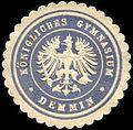 Siegelmarke Königliches Gymnasium - Demmin W0225635.jpg