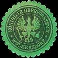 Siegelmarke K.Pr. Oberförsterei Wolkersdorf W0350115.jpg