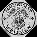 Siegelmarke Magistrat - Wriezen W0216742.jpg