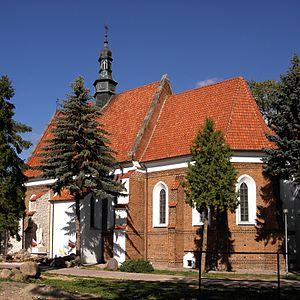 Sienno, Masovian Voivodeship - Image: Sienno.Kościół 02