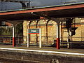 Sign, Crewe railway station 050909.JPG
