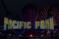 "Sign ""Pacific Park"" at the Santa Monica Pier in Santa Monica, California LCCN2013632363.tif"