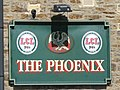 Sign for The Phoenix, Priestpopple - geograph.org.uk - 1490514.jpg