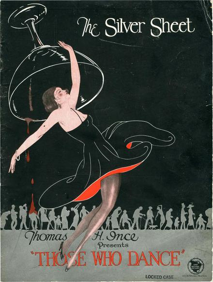 The Silver Sheet, a studio publication promoting Thomas Ince Productions, April 1924 Silver Sheet April 01 1924 - THOSE WHO DANCE.pdf