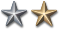 Silver and Gold award stars.png