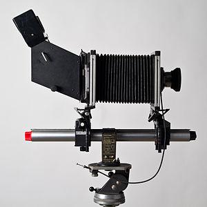 Monorail camera - Sinar F monorail camera