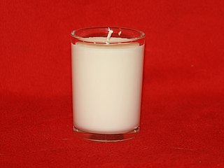 Soy candle candles made from soy wax
