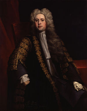 British general election, 1722 - Image: Sir William Wyndham, 3rd Bt by Jonathan Richardson