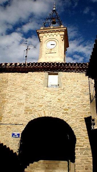 Horloge à Siran (Hérault)