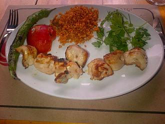Shish kebab - Şiş tavuk