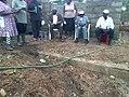 Site visit by villagers.jpg