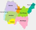 Situation approximative des régions naturelles de l'Ain 2.png