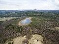 Skats uz Bungām un meža ezeru - panoramio.jpg