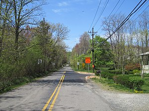Skillman, New Jersey - Skillman as seen from the intersection of Camp Meeting Avenue and Fairview Road