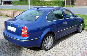 Škoda Superb - Pre-facelift Škoda Superb