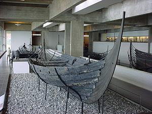 Skuldelev 3 in Vikingeskibsmuseet, Roskilde