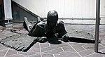 Skulptur Zufahrt zum Flughafen Tegel (Tegel) Der Fall Daidalos und Ikaros&Rolf Scholz&1985.jpg