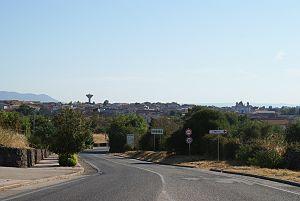 Borore - Image: Skyline Borore