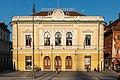 Slowenische Philharmonie, Vorderseite, gegründet 1701.jpg