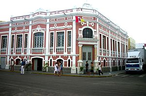 Sobral, Ceará - A historical building in downtown Sobral