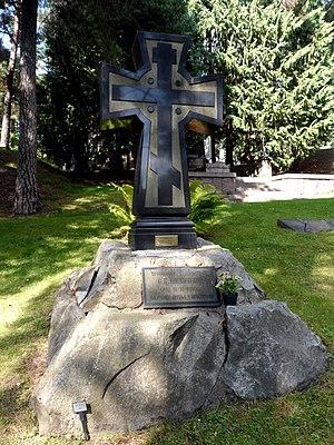Sofia Kovalevskaya - Sofia Kovalevskaya's grave, Norra begravningsplatsen