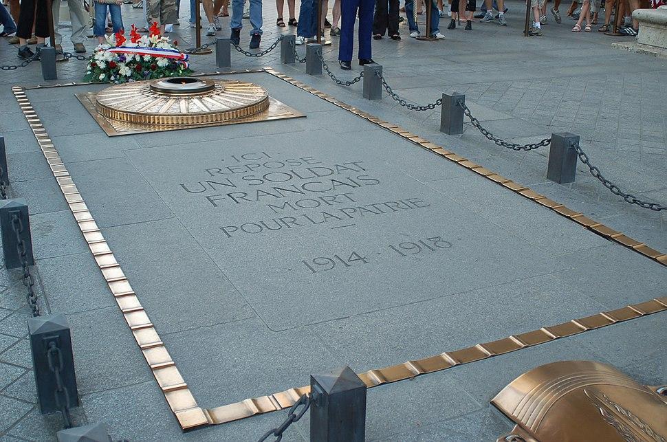 Soldat inconnu 14 07 2006