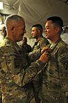 Soldier receives award on Christmas DVIDS503816.jpg