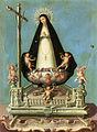 Soledad de la Victoria en sus andas procesionales. José Campeche. 1782-89.jpg