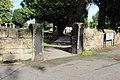 Southern entrance to St Andrew's churchyard, Bebington.jpg