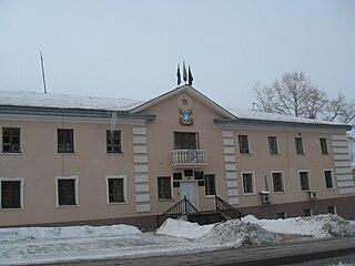 Sovetskaya Gavan Town in Khabarovsk Krai, Russia