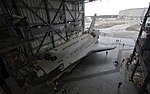Space Shuttle Atlantis Rolls Slowly to Its New Home 08.jpg