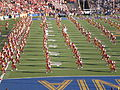 Spirit of Troy performing pregame at USC at Cal 2009-10-03 3.JPG