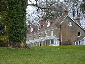 Spitchwick - Spitchwick House in 2006, viewed from east